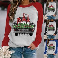 Plus Size, christmastopswomen, Christmas, Sweatshirts