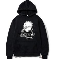 myheroacademia, Sleeve, hoodies for women, katsukibakugou
