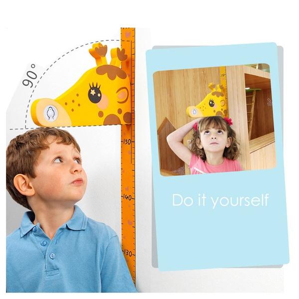 Decor, giraffegrowthchart, Stickers, heightsticker