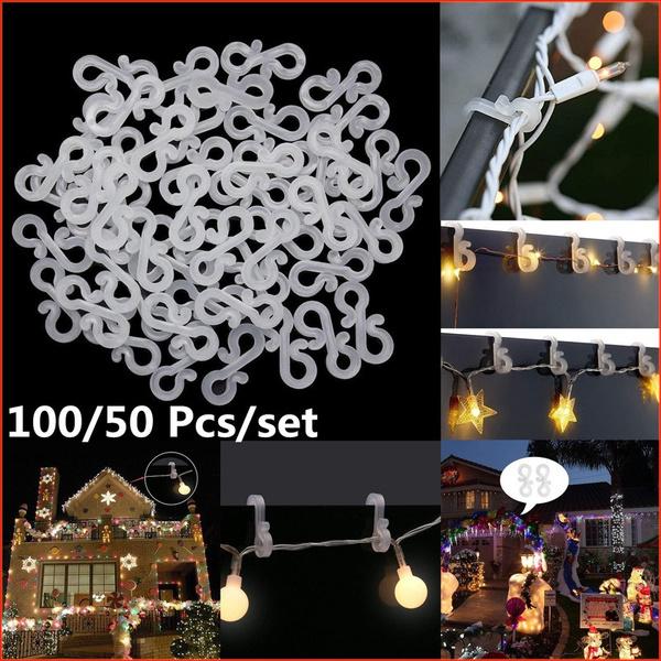 christmaslightclip, Clasps & Hooks, hooksrail, Mini