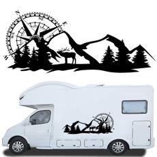 Car Sticker, vangraphic, Vans, Deer