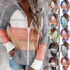 Fashion, Hoodies, sweater coat, Long Sleeve
