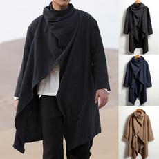 Fashion, cardiganmen, Coat, cloak