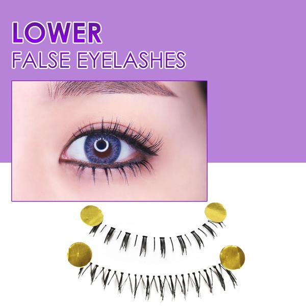 False Eyelashes, bottomeyelashe, eye, Beauty
