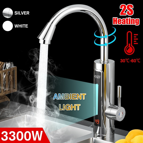 Faucets, lights, led, fastheatingfaucet