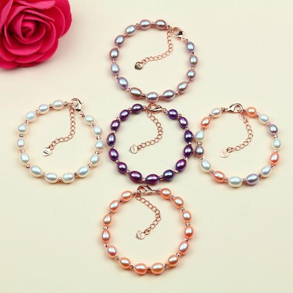 pearls, Bracelet, 送妈妈的项链, Jewelry