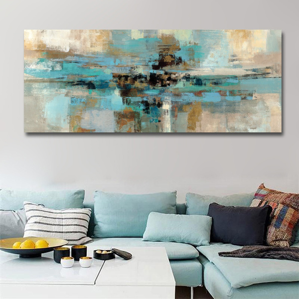 Pictures, posters & prints, modern abstract oil painting, canvaspainting