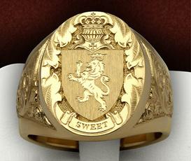 ringsformen, Moda, wedding ring, gold