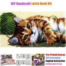 latchhookkit, beginner, Handmade, crochethooksset