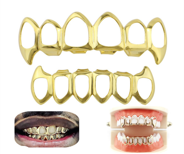 goldplated, grillz, vampirecostume, Fashion