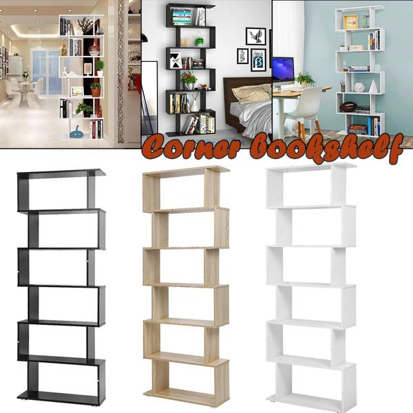 cornerbookshelve, cornershelve, bookcase, storageshelve