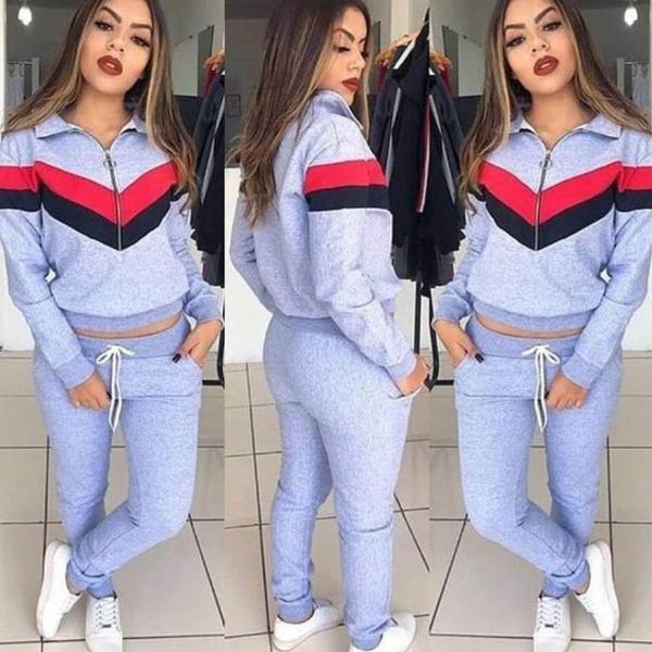 fashion women, trousers, Long Sleeve, plain