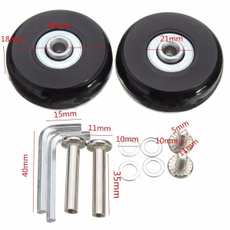 rubberdeluxerepair, wheelsaxle, luggagereplacement, suitcaseluggagelock