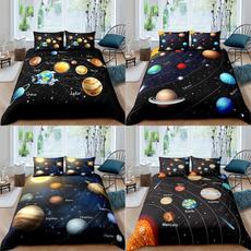 King, printed, galaxybeddingset, Bedding