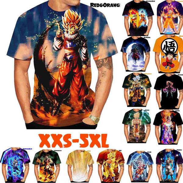 dragonball3dtshirt, Fashion, Shirt, Sleeve