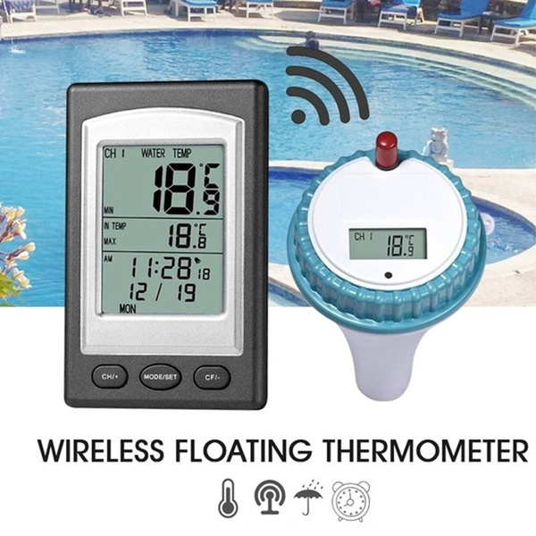 spafloatingthermometer, swimmingpoolthermometer, wirelessdigitalthermometer, poolaccessorie