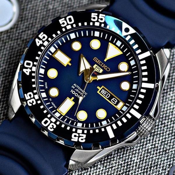 Blues, Waterproof Watch, Silicone, classic watch
