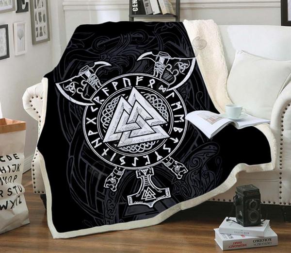 3dprintblanket, Fleece, Unique, tattoo