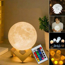 led, 3dmoonlamp, Night Light, Gifts