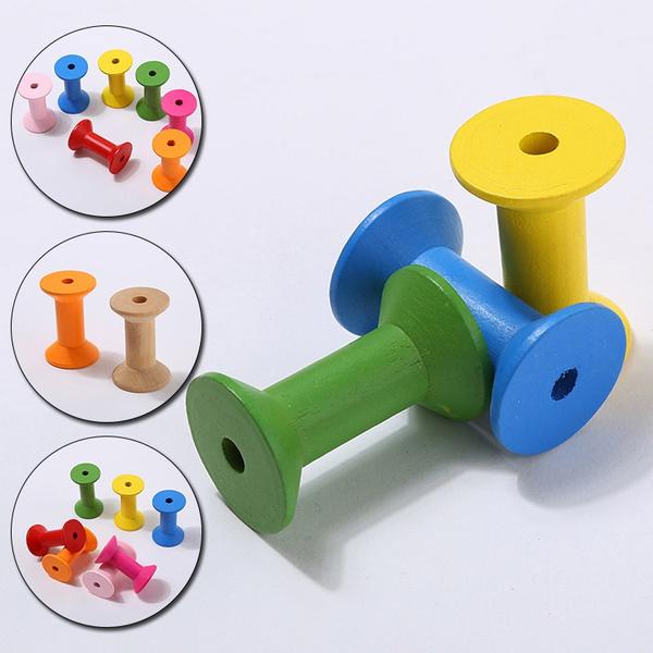 sewingtool, organizerforsewing, embroiderytool, woodenbobbin