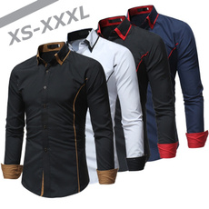 blouse, Turn-down Collar, Plus Size, Shirt