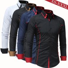 dressshirtsmen, Turn-down Collar, clothesformen, Fashion