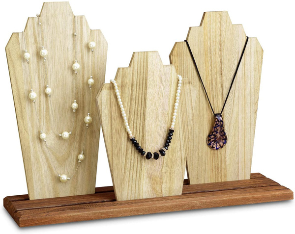 Jewelry, Wooden, bust, Wood