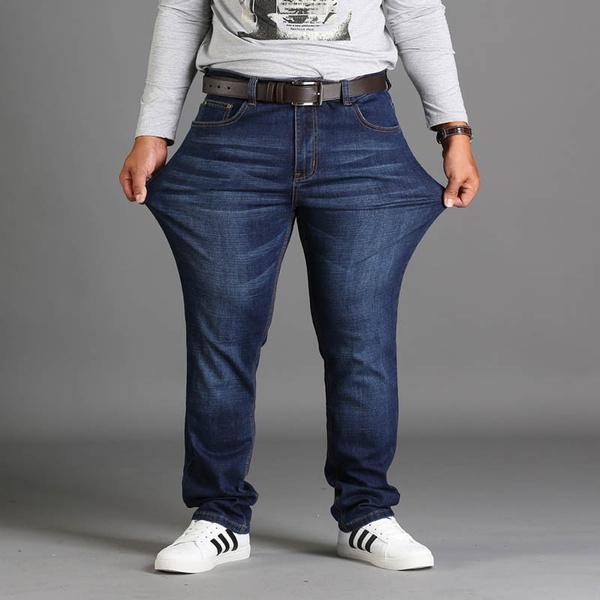 menloosejean, men's jeans, Plus Size, blackjeansformen
