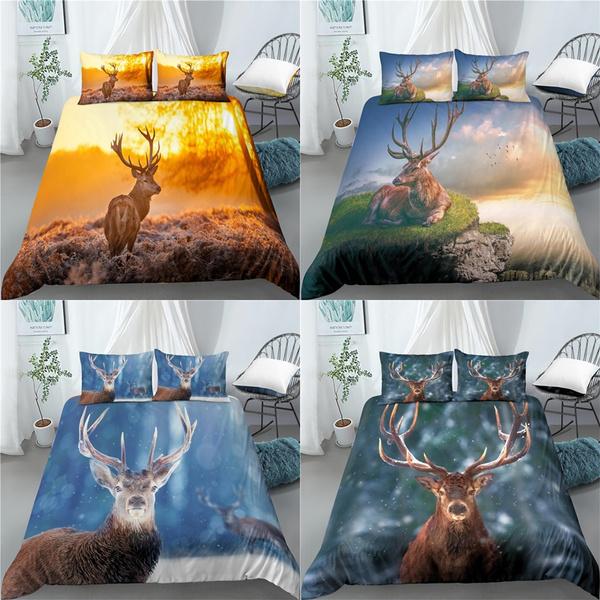 beddingkingsize, King, 3dbeddingking, Deer