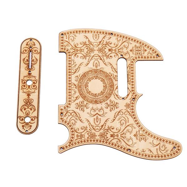 guitarpickguard, decoration, woodenpickguard, gadget