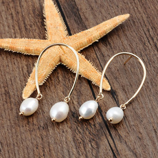 Earring, Natural, Jewelry, gold