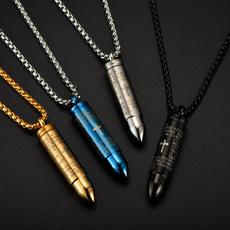 Steel, bible, Jewelry, Bullet