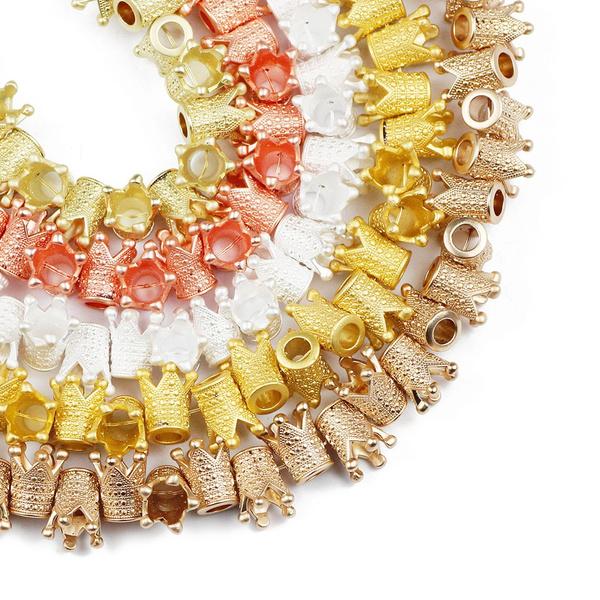 beadsforjewelrymaking, diyjewelry, loosebeadsformaking, crownshape