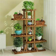 Box, Plants, flowerpot, Garden