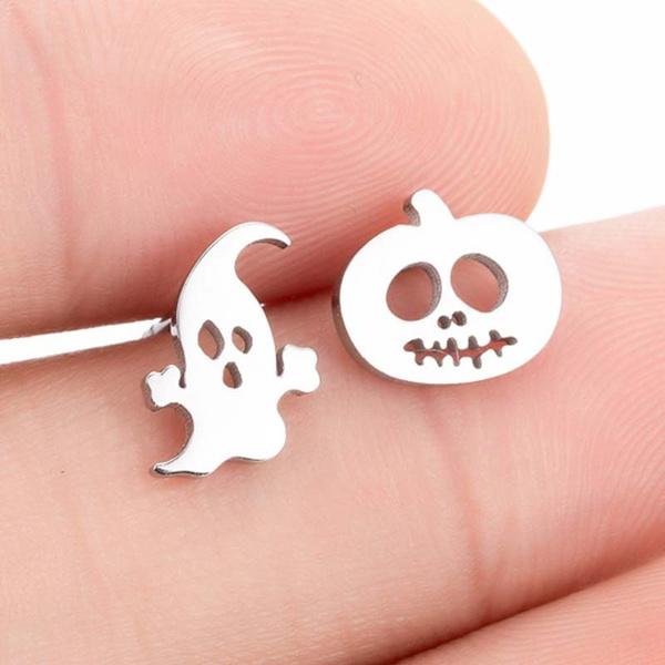 ghost, cute, Head, Jewelry