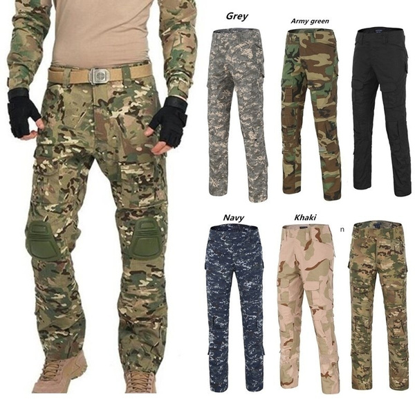 Summer, trousers, pants, camouflagepant