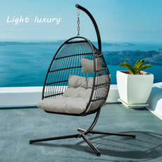 hangingchair, softpaddedmat, hammockchair, lights