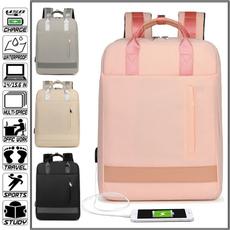 Laptop Backpack, women bags, Moda, Waterproof
