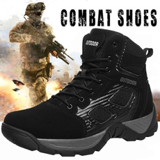ankle boots, combat boots, Outdoor, Combat
