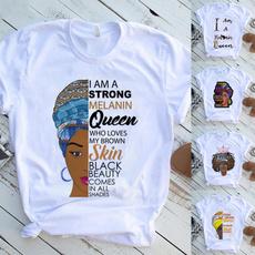 Clothes, Women, Printed T Shirts, melaninpoppin
