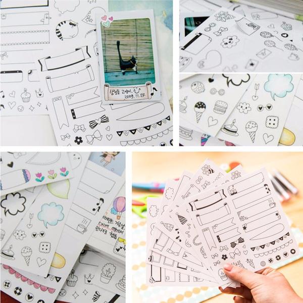 Stickers, calendarsticker, decoration, diyphotospaper