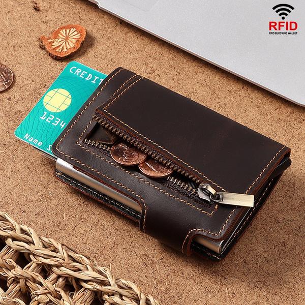 rfid, Wallet, antitheft, Men