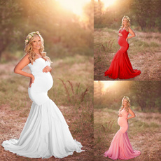 Maternity Dresses, gowns, maternityphotographyclothing, shoulderlessdres