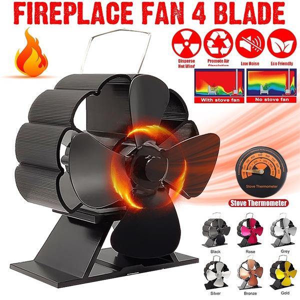 Winter, fireplacefan, stove, blower