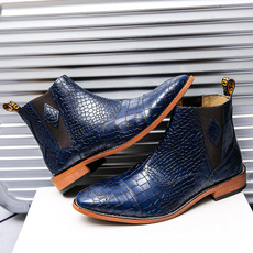 Blues, Fashion, menleathershoe, Boots