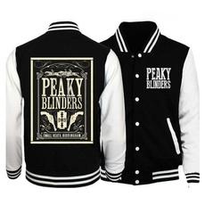 cottonjacket, Sleeve, peakyblinderssweatshirt, Long Sleeve