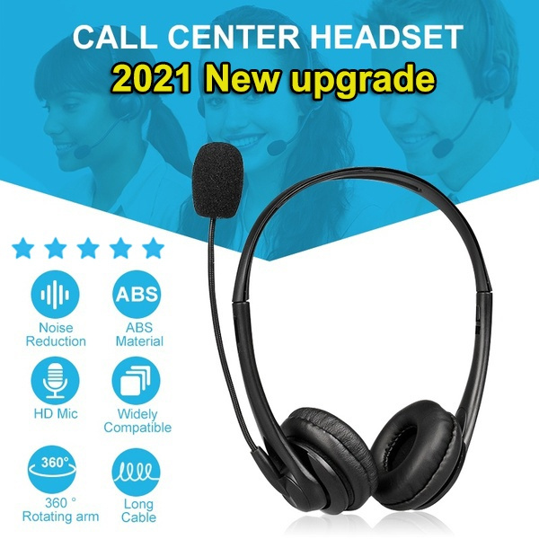 Headset, Microphone, usb, Office