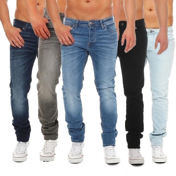 men jeans, Plus Size, Classical, pants
