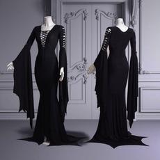 Goth, Fashion, Medieval, long dress