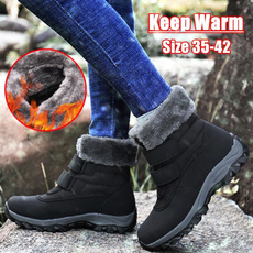 ankle boots, Womens Boots, Winter, cottonboot